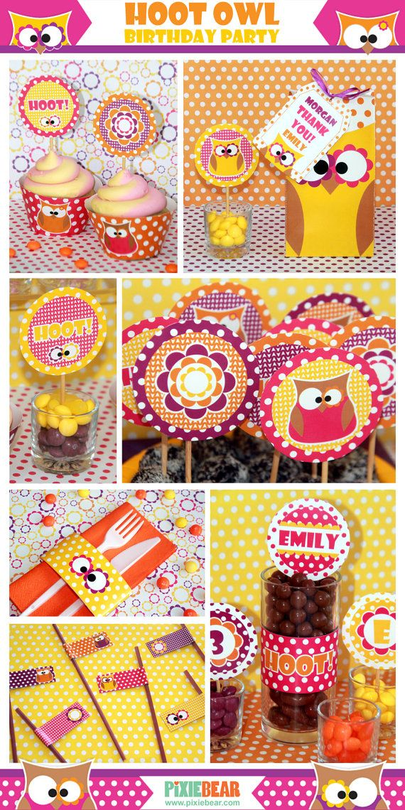 25 best Owl birthday decorations ideas on Pinterest Owl party