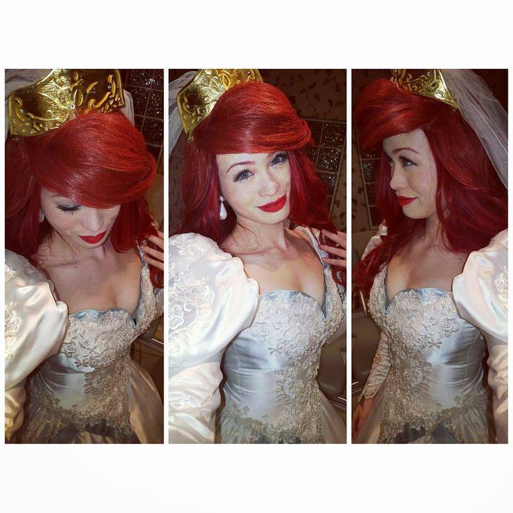 My Ariel Wedding Dress The Little Mermaid Cosplay