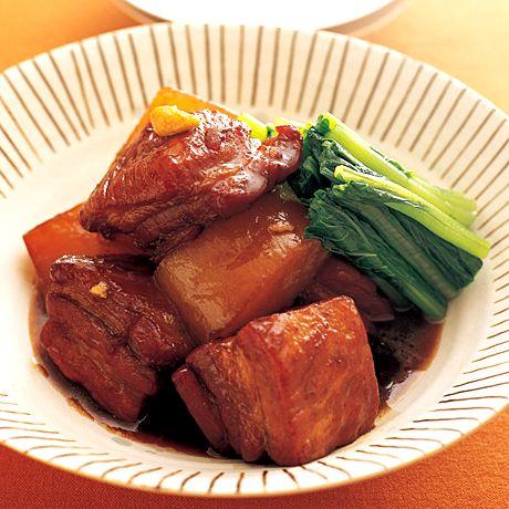角煮大根   藤井恵さんの角煮・煮豚の料理レシピ   プロの簡単料理レシピはレタスクラブニュース