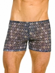 Gusto tan through swim shorts