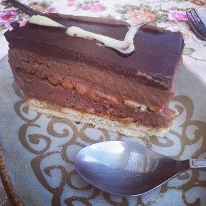 מעורב | עוגת ביסקוויטים בטעם שוקו-נוגט
