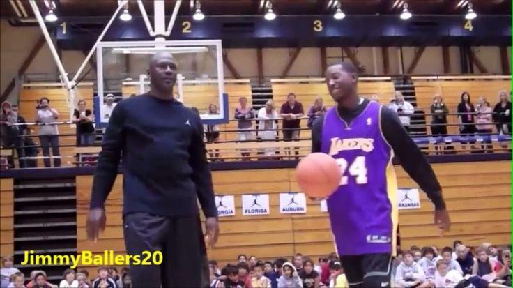 51 years old Michael Jordan vs. young Kobe Bryant fan