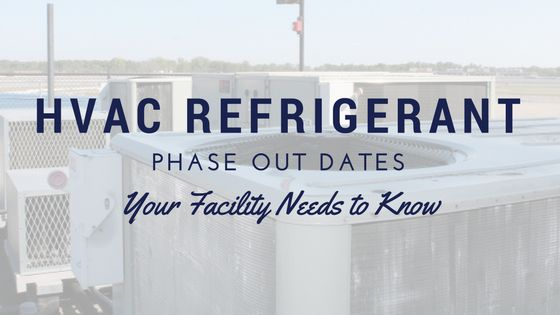 HCFCs are scheduled to be phased out in favor of safer, more environmentally friendly refrigerants. Dates for commercial #hvac refrigerant regulation change.