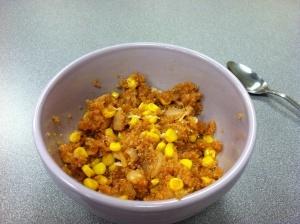 quinoa and corn