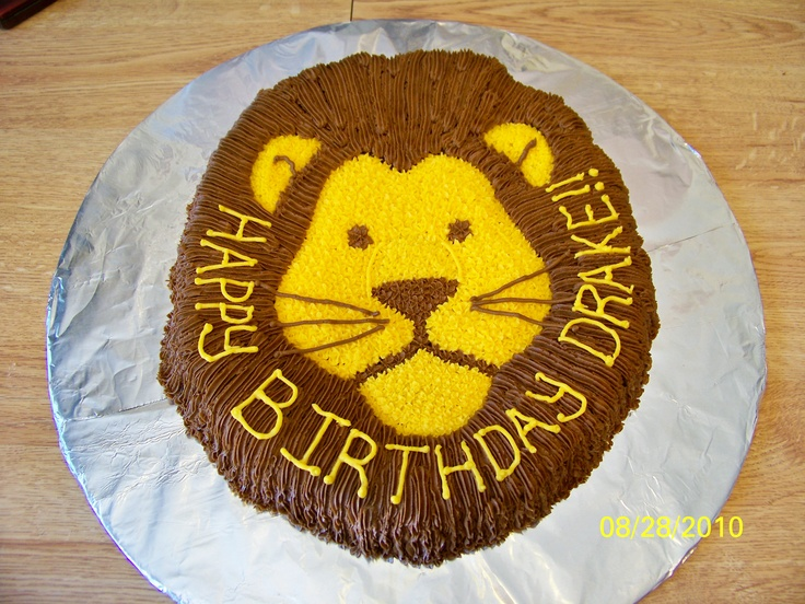 Best  Lion Cakes Ideas On Pinterest Lion Cupcakes Lion - Lion birthday cake design