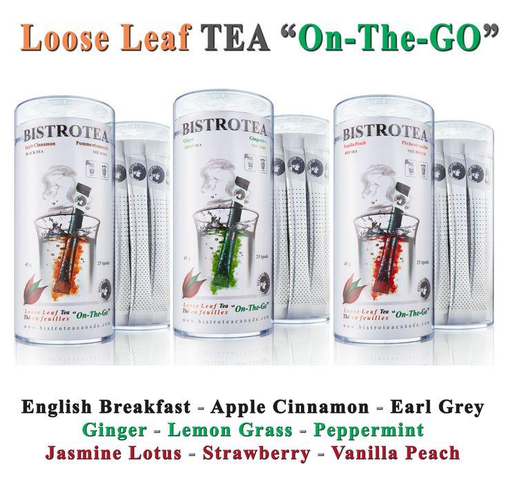 "Your Loose Leaf Tea ""On-The-GO""."