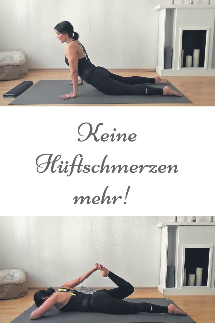 Übungen gegen Hüftschmerzen