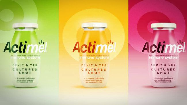 Danone Dragon Rouge Partner For Launch Of New Actimel Shots