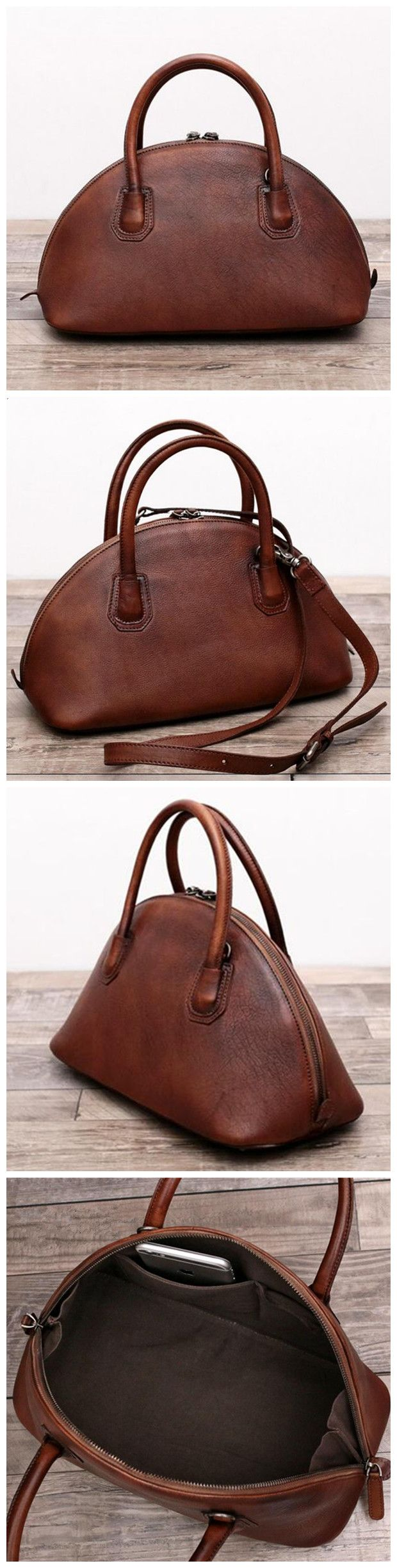 Genuine Leather Women Handbag Shoulder Bag Cross body Satchel We use genuine cow leather, quality hardware and fabric to make the bag as good as it is. •Comfortable Shoulder Strap. • Inside zipper poc