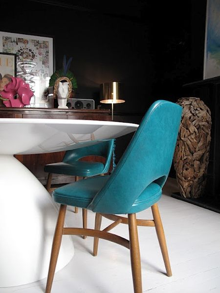 Best 25+ Turquoise chair ideas on Pinterest   Small round kitchen table,  Farmhouse chairs and Mint furniture - Best 25+ Turquoise Chair Ideas On Pinterest Small Round Kitchen