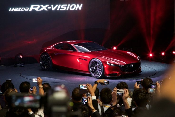 Mazda was the first to whip the covers off a brand new 2016  concept car at the Tokyo Motor Show, and the RX-Vision didn't disappoint