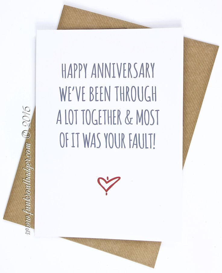 Best 25+ Funny anniversary cards ideas on Pinterest Pun quotes - free printable anniversary cards for parents