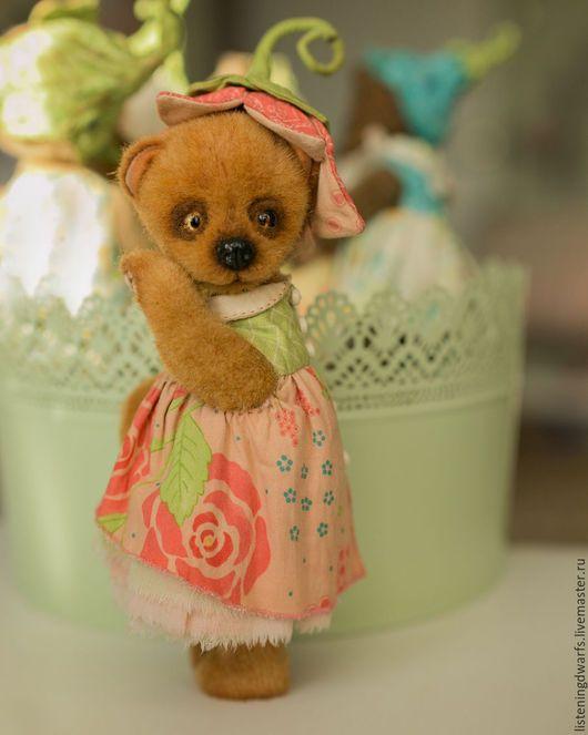 Teddy Bears handmade. teddy bear chloe, designer toy, plush. Aleksandra Kulikova (listeningdwarfs). My Livemaster.Collectible toys #teddy #bear #teddybear #handmade #artdoll #ooakteddy #toy #bunny #teddybunny #rabbit #teddyrabbit #motherday