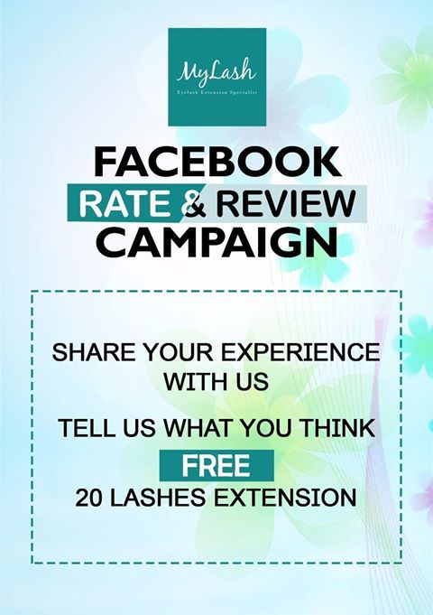 Would you like to get FREE lashes extension? Just share your experience with us and tell us what you think about our services and you'll have 20 lashes extension for free!  Contact us at: 🏠IOI Mall Puchong, Lot ES06, 2F ☎03-8082 1286 📱0182772909  🏠One Utama, Lot S118b,2f ☎03-7733 5369 📱0189697668 Follow us on Instagram: https://www.instagram.com/mylash_kl