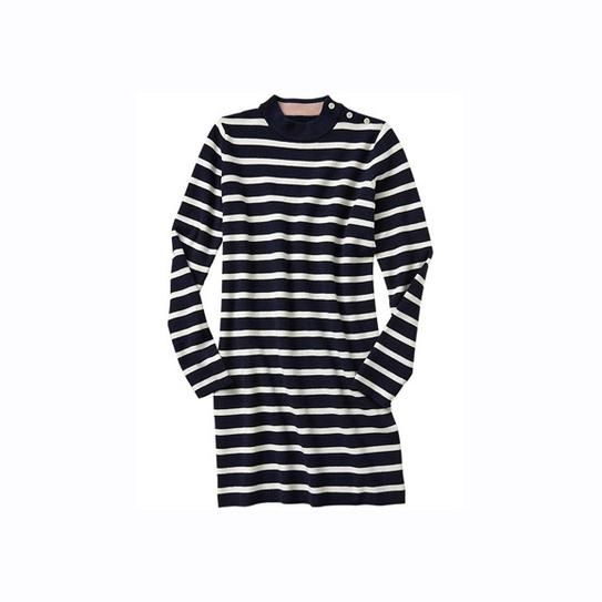Gap stripe sweater dress