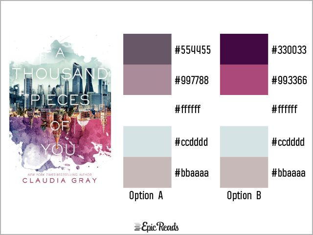 Best 24 YA Book Cover Color Palettes images on Pinterest | Color ...