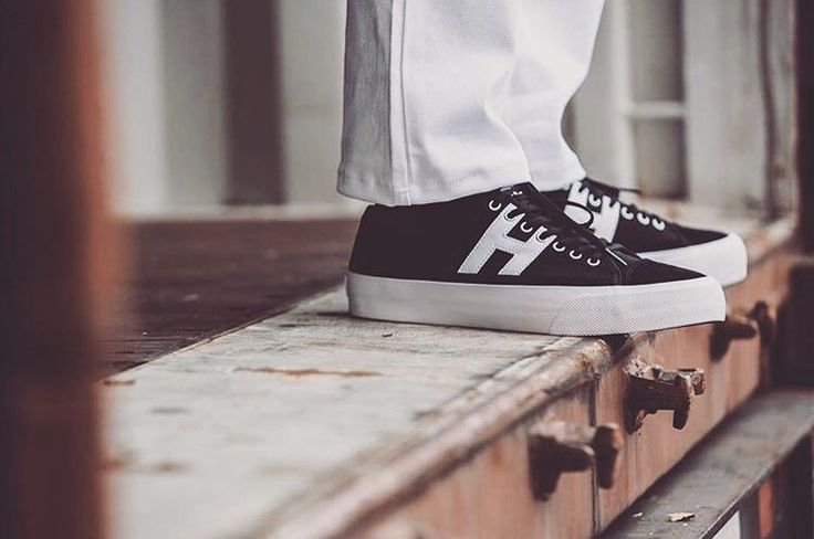 HUF shoes Hupper 2 blk/wht now available...$139.95