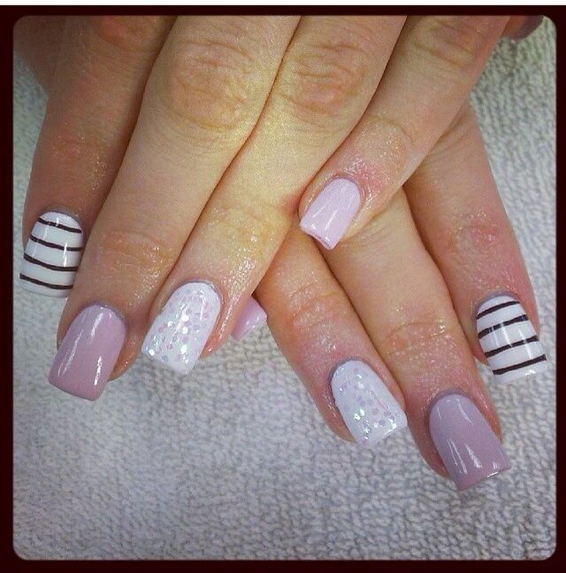 pretty gel nails