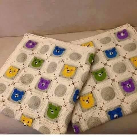 awesome Ayı Motifli Bebek Battaniyesi Modelleri