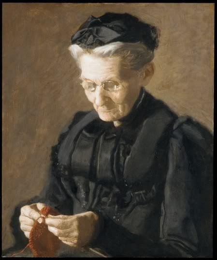 Thomas Eakins Mrs Mary Arthur (1900)  Metropolitan museum of art New York