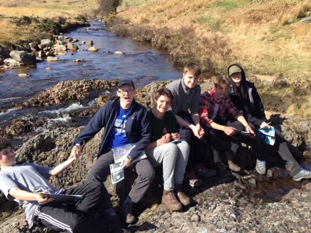 Year 12 Geology trip to Arran 2017