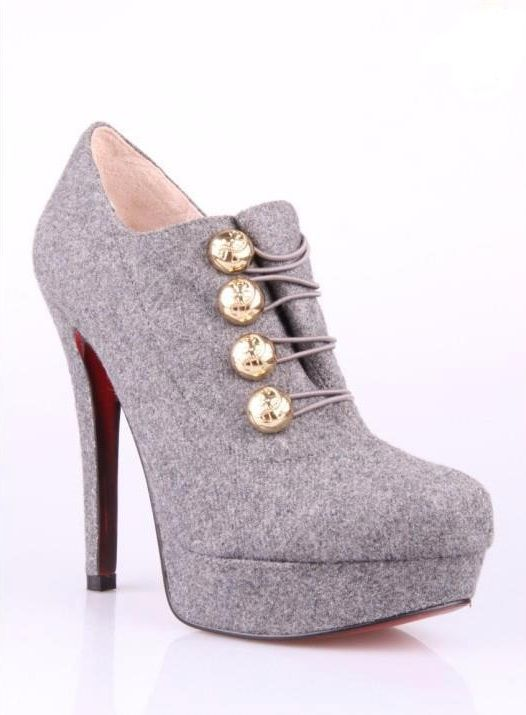 highheels,womensfashion,shoes,moda,style,fashion,accessories,dresses,jeans,handbags (239) http://www.womans-heaven.com/gray-high-heels/