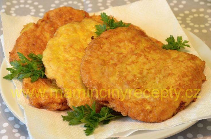 Hedvábné kuřecí řízky