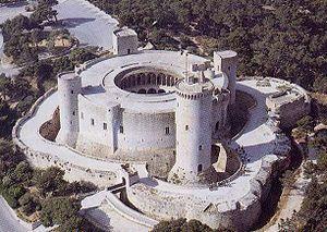 Castillo de Bellver, Mallorca, España
