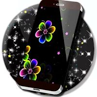 Neon Flowers Live Wallpaper 1.265.55.87 APK Unlocked Apps Personalisation