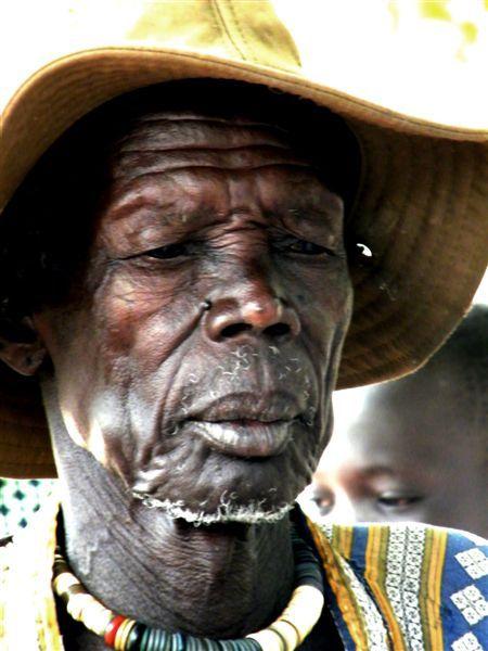 Face of Rambek elderly man