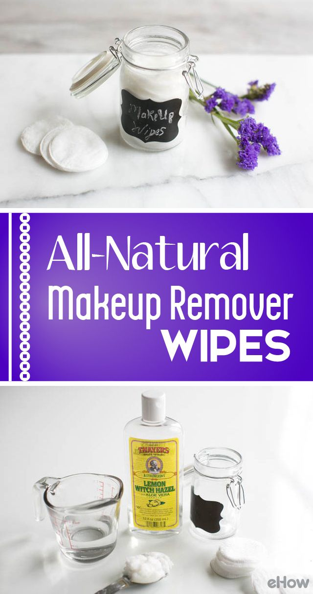 Sleeping in makeup can clog pores, leading to blemishes and premature aging. However, even if you do remove your makeup, some removers are too harsh on the eyes or require too much tugging and pulling on the delicate eye area (hello, wrinkles!). Make your own makeup remover wipes with this simple all-natural recipe that can handle even the toughest mascara -- and save yourself money, too.