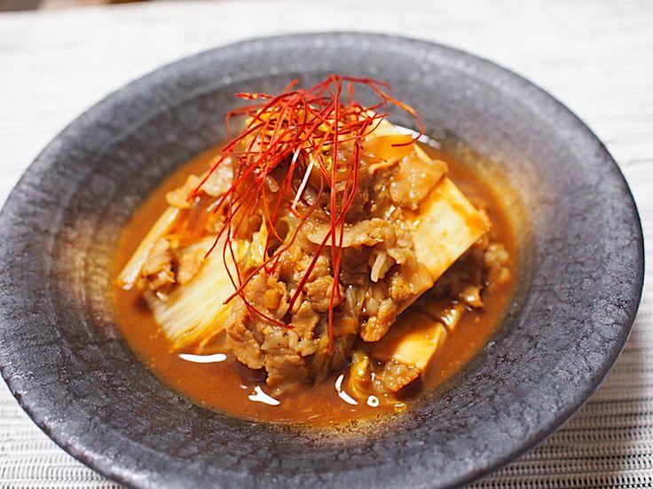 濃厚うまい!20分でこっくり煮込み「赤味噌煮込み豆腐」 | NOMOOO(ノモー)