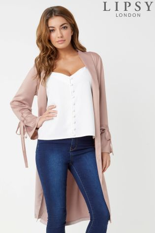 1834b5247481a Buy Lipsy Satin Duster Coat from the Next UK online shop
