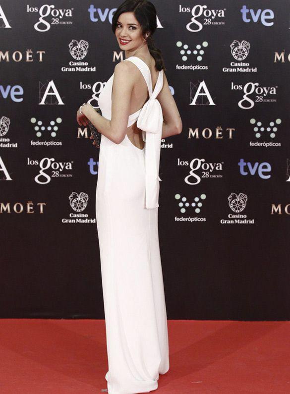 Vestidas de blanco a los Premios Goya #boda #vestido #novias