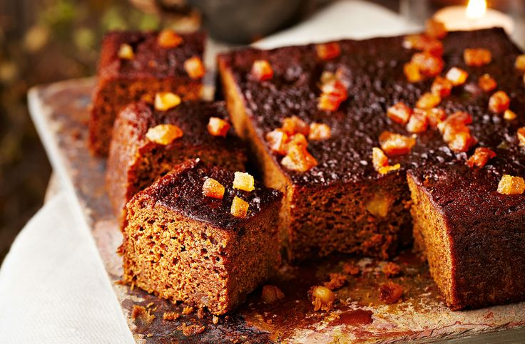A wonderfully sticky and sweet ginger and treacle cake - the ideal afternoon treat for autumn.
