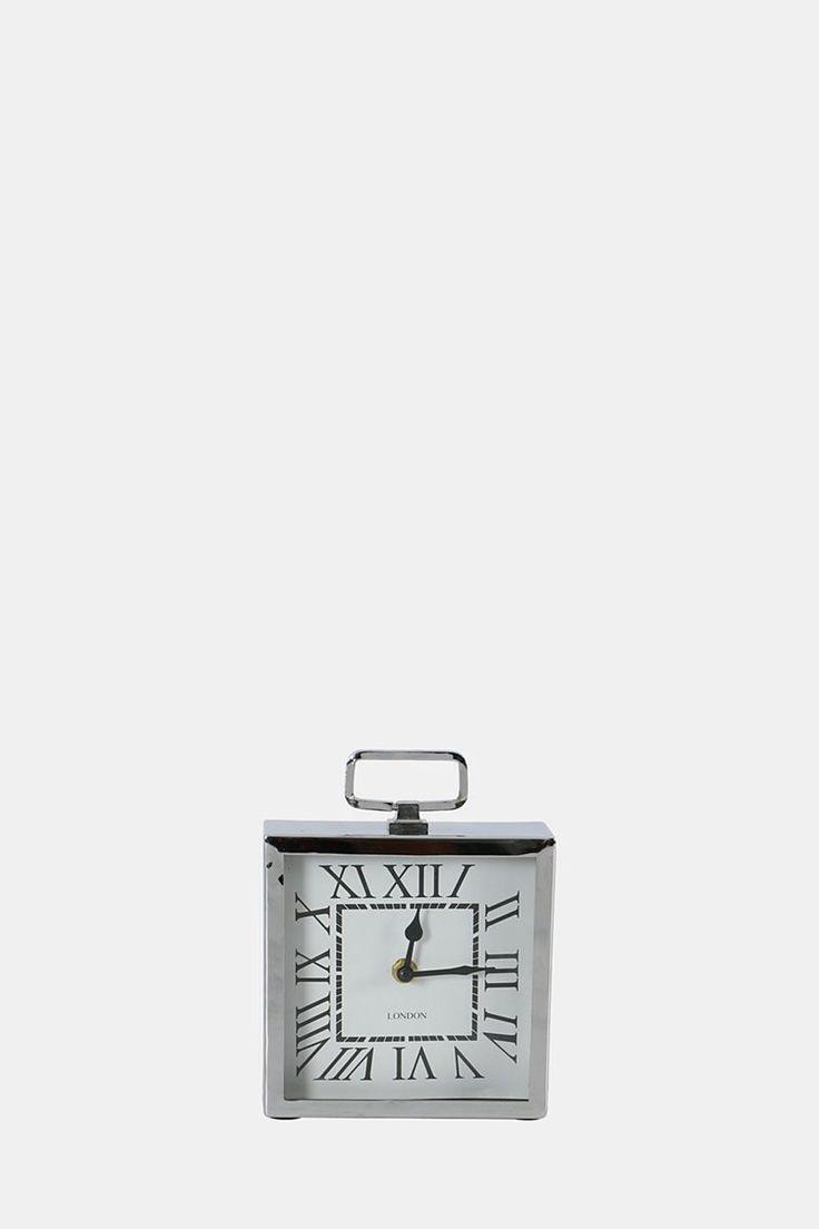 Square London Mantle Piece Clock - Clocks - Shop Décor - Home Décor