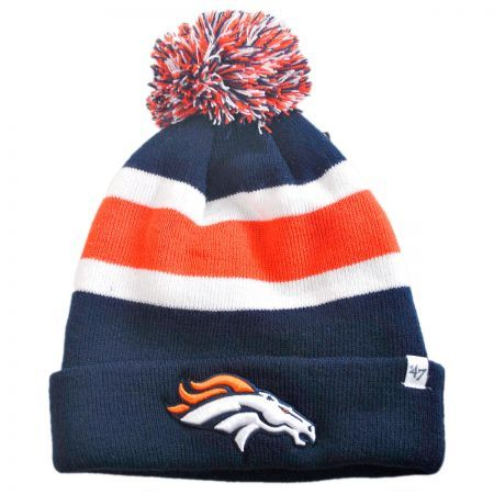 Denver Broncos NFL Breakaway Knit Beanie Hat  ca50504cd76