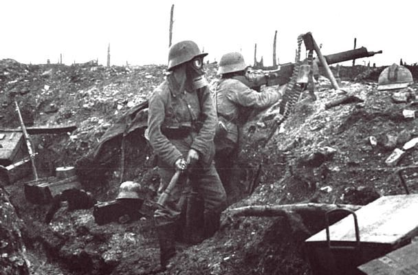 Longest battle of WWI. One of the most devastating battles in human history. First recorded use of the flamethrower as a weapon (by German forces).