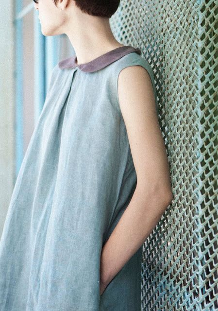 muku: Aquamarine dress