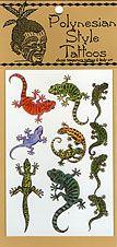 gecko Temporary Tattoos