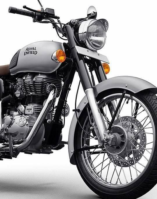 Royal Enfield Modified Royal Enfield Gunmetal Grey 350 Modified