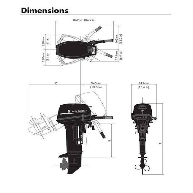 T20 Outboard Motor Body Diameter Outboard Motors Outboard Outboard Motors For Sale