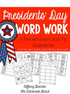 Presidents' Day: Favorite Books, Activities, and Crafts