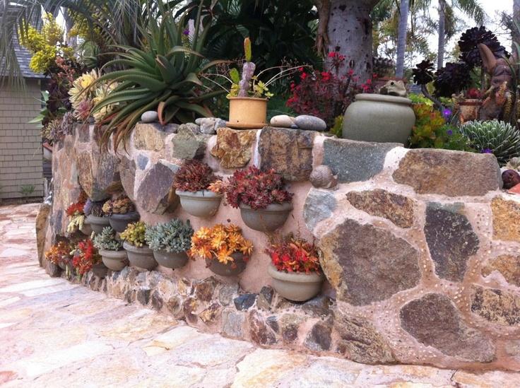 25 best Rock wall gardens ideas on Pinterest Rock wall Garden
