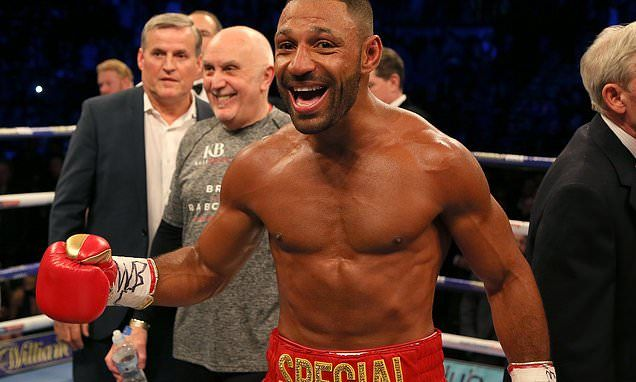 Kell Brook set for Amir Khan fight after knockout of Sergey Rabchenko