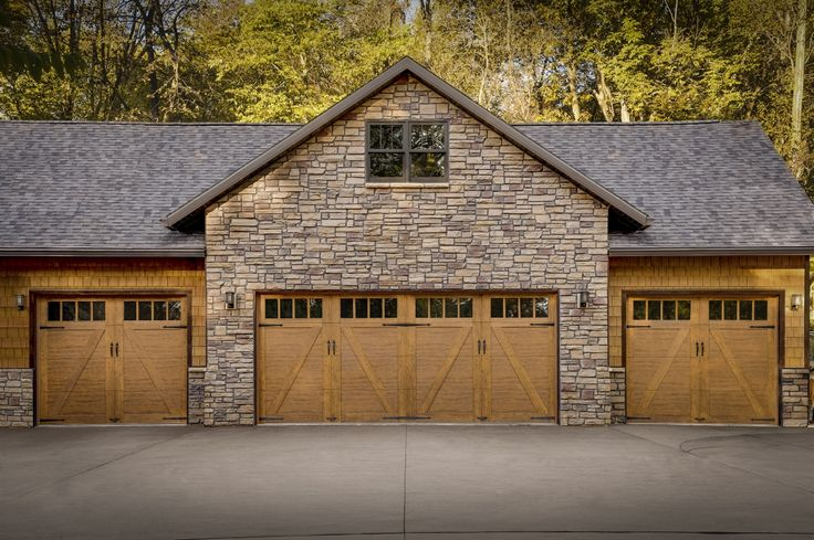 65 best farmhouse style images on pinterest country for Rustic wood garage doors