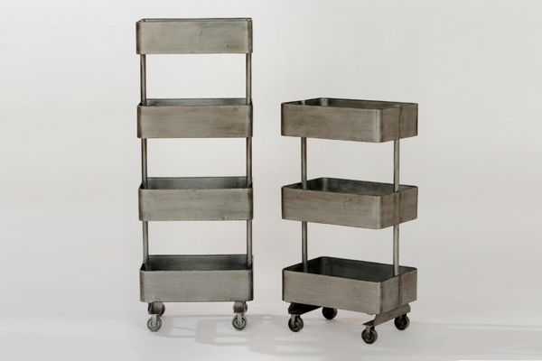 6 Home Updates For A Grown-Up Place #refinery29World Market Jayden Metal Shelf Units, $39.99, available at World Market.