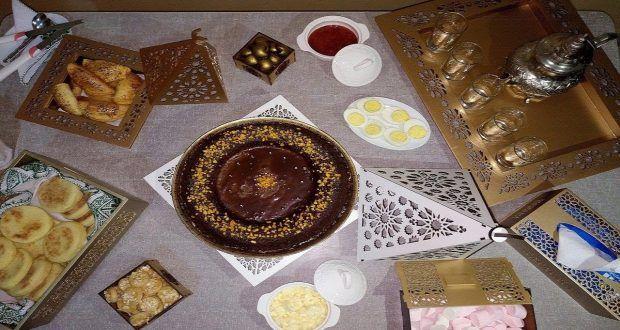 أفكار بسيطة كيفية تحضير مائدة الكوتي او اللمجة بريستيج للضيوف مطبخ أم هداية Oumhidaya Takeout Container Gift Wrapping Blog