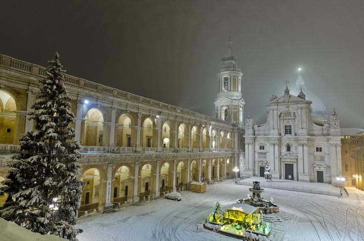 Loreto snow 2012