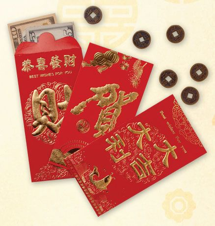 Asian red envelope history can